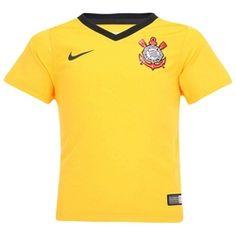 Camisa do Corinthians III 2014 s/nº Nike - Baby - Amarelo/Preto Desconto Centauro para Camisa do Corinthians III 2014 s/nº Nike - Baby - Amarelo/Preto por apenas R$ 79.90.