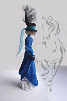 Muñeca del arte del paño muñeca de trapo de por ViDollStudio