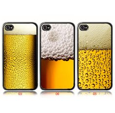 Beer Mug Glass With Bubble iPhone 4 Case or by SUndabuLEshop, $15.00