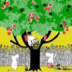 Moomin Wallpaper, Childhood Stories, Moomin Valley, Tove Jansson, Little My, Flowering Trees, Troll, Manga Anime, Fairy Tales