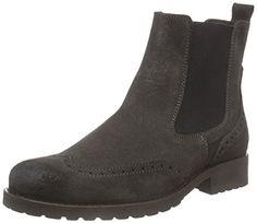 Belmondo 70330101, Damen Chelsea Boots, Grau (antracite), 39 EU - http://besteckkaufen.com/belmondo/belmondo-70330101-damen-chelsea-boots-grau-39-eu