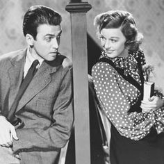 Shop Around the Corner, starring Jimmy Stewart and Margaret Sullavan.
