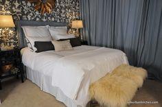 One Room Challenge Grey Chinoiserie Bedroom  ~ Suburban Bitches