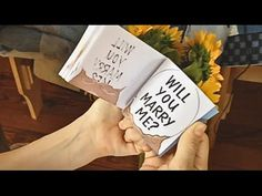 Artist Creates Flipbook Animation With Hidden Ring Inside For Marriage Proposal | Bored Panda