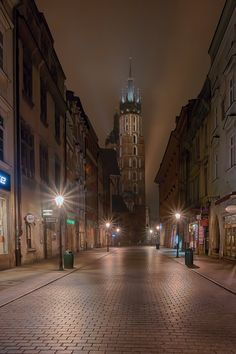 South Beach Hotels, Krakow Poland, World Cities, City Streets, Eastern Europe, Art And Architecture, Life Is Beautiful, Places To Go, Scenery
