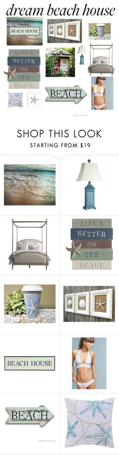 """Beach house ideas 💡 !"" by elleigh213 ❤ liked on Polyvore featuring interior, interiors, interior design, home, home decor, interior decorating, Stylecraft, Pier 1 Imports, Vitamin A and C & F"