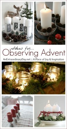 We hurry through all our holiday activities, but do we take time to breathe and contemplate the meaning of the season? Join me in observing Advent.