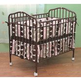 Found it at Wayfair - L.A. Baby Compact Folding Metal Crib