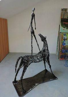 "Saatchi Art Artist Michele Rizzi; Sculpture, ""The next exploration (star man)"" #art"