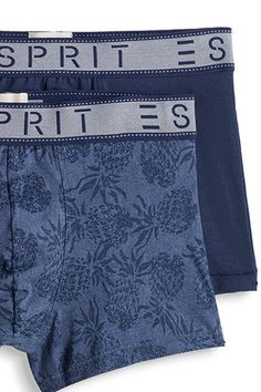 Esprit / Two pairs of stretch cotton shorts