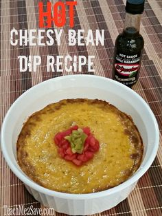 Hot Cheesy Bean Dip