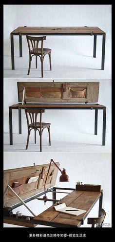 ..mesas de trabajo donde desarrollas toda tu creatividad.