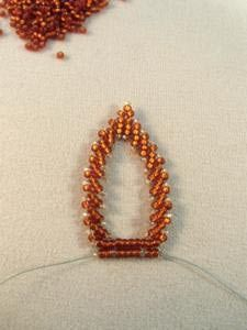 How to Make Leaves using St. Petersburg Stitch