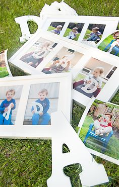 Show Dad some love this Father's Day with a simple, meaningful photo gift he'll treasure! What a fun tradition to take these photos every year!