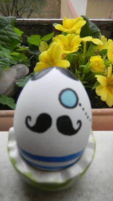 Huevos de Pascua pintados.Natali's cooking
