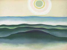 ▣ '꽃과 사막의 화가' 조지아 오키프 (Georgia O'Keeffe)의 작품과 그림 가격 : 네이버 블로그