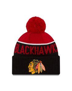 790d7c070e1d3 Chicago Blackhawks New Era 2016 NHL Sport Knit Hat Nhl Chicago