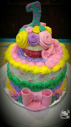 Cupcake smashcake by Care @ Care 4 Cakes