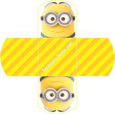 Inspired in Despicable Me and Minions Party: Free Printable Mini Kit.