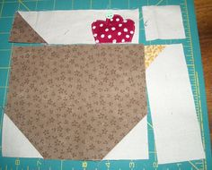 Sew Inspired: Chicken Quilt Block Tutorial