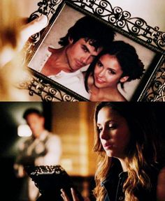 HE FACT THAT THEY ARE USING LEGIT NIAN PHOTOS FOR DELENA SCENES MY HEART.