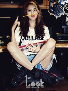 "GaYoon ""Frist's Look"" Magazine Bae Yong Joon, Kpop Girl Groups, Korean Girl Groups, Kpop Girls, Korean Women, South Korean Girls, Heo Ga Yoon, Kim Hyuna, Babe"