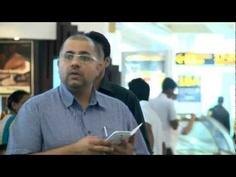 Flash Mob at Indira Gandhi International Airport in Delhi