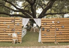 DIY outdoor ceremony space |  photos by Mustard Seed Photography | 100 Layer Cake