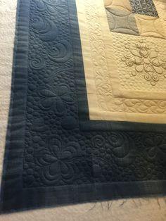 Custom-quilting by Berit