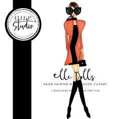 Just in time for fashion week! Our street-style, high fashion clip art is here! See the rest of the Cat Eye Collection Elle P. Dolls here: https://www.etsy.com/listing/462468026/the-cat-eye-collection-gigi-elle-p-doll?ref=listing-shop-header-2 https://www.etsy.com/listing/475959657/the-cat-eye-collection-suzy-elle-p-doll?ref=listing-shop-header-1 https://www.etsy.com/listing/462469430/the-cat-eye-collection-mary-elle-p-doll?ref=listing-shop-header-0  Please note that this artwork is…