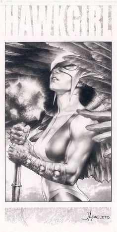 Hawkgirl by Jay Anacleto