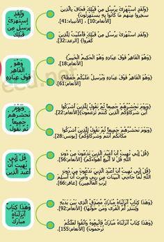 متشابهات سورة الأنعام ٩