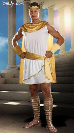 Hes A God Costume, Male God Costume, Greek God Costume