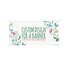 Banner Design , Custom Banner with your logo, Graphic Design Service, Banner Designer, Business Bann Personalized Buttons, Custom Buttons, Custom Vinyl Banners, Vinyl Labels, Graphic Design Services, Create A Logo, Banner Design, Service Design, Custom Design