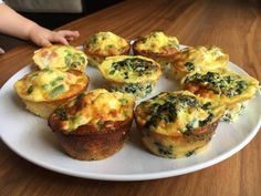 BLWing 'Eggy Muffins'