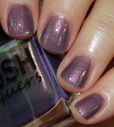 BLUSH Lacquers Sea Water Shimmers