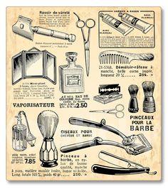 ヴィンテージ ヘアードレッサー デザイン Vintage hairdresser design elements:Free Vector 4 You Old School Barber Shop, Vintage Hairdresser, Barber Tattoo, Barber Shop Decor, Barber Shop Vintage, Barbershop Design, Poster S, Wet Shaving, Barber Chair