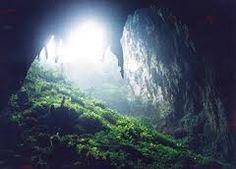 Entrance of the Langun-Gobingob Cave in Calbiga, Samar.