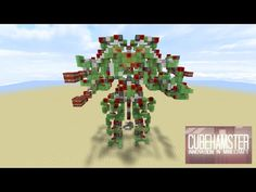 Controllable Two Legged Walking Attack Robot - Colossus [No Mods/ No Command Blocks] - YouTube