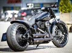 Harley-Davidson Softail Breakout 2017   #2017 #Breakout #Harley-Davidson #Softail