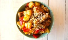Paleo Sweet and Sour Chicken Recipe.
