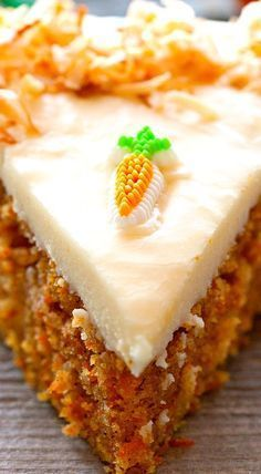 Easy Cacke : Scrumptious Carrot Cake with Cream Cheese Frosting, Brownie Desserts, Oreo Dessert, Mini Desserts, No Bake Desserts, Just Desserts, Delicious Desserts, Cake With Cream Cheese, Cream Cheese Frosting, Cream Cheeses