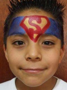 Maquillaje superman