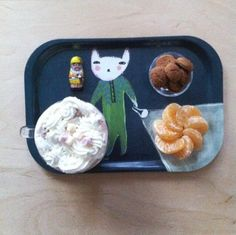 Our Bunny Mini Tray, re-gram from @ mikodesign on Instagram