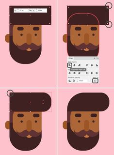 How to Draw a Flat Designer Character in Adobe Illustrator – Design Design Plat, Flat Web Design, Graphisches Design, Logo Design, Poster Design, Graphic Design Tutorials, Graphic Design Inspiration, Vector Design, Graphic Design Quotes