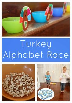 Toddler Approved!: Turkey Alphabet Race Game With Alpha-Bits #alphabits #sponsored