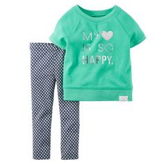 2-Piece Top & Legging Set