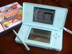 Ice Blue Nintendo DS Lite