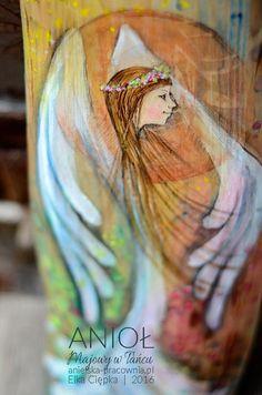 Anioł Majowy w Tańcu Antelope Canyon, Painting On Wood, Watercolor Tattoo, Angel, Nature, Art, Art Background, Naturaleza, Kunst