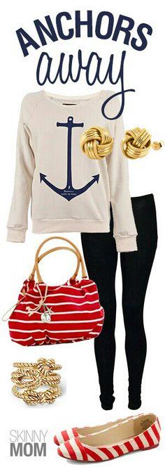 Navy look